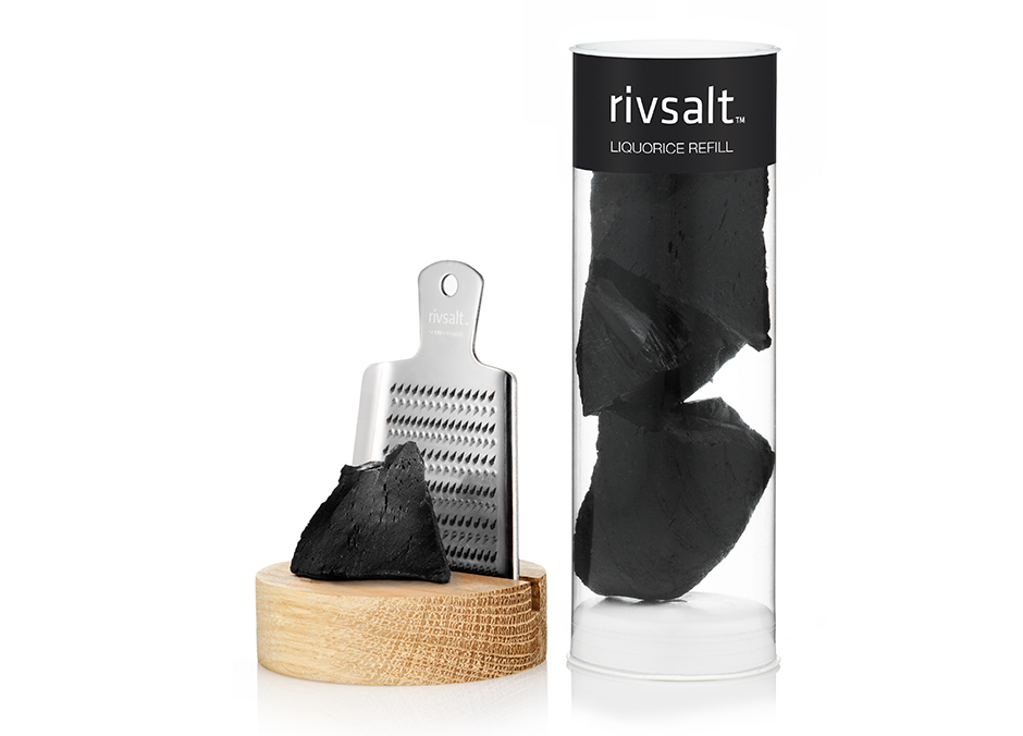 A products image of Rivsalt Liquorice a marketing case by Adentity