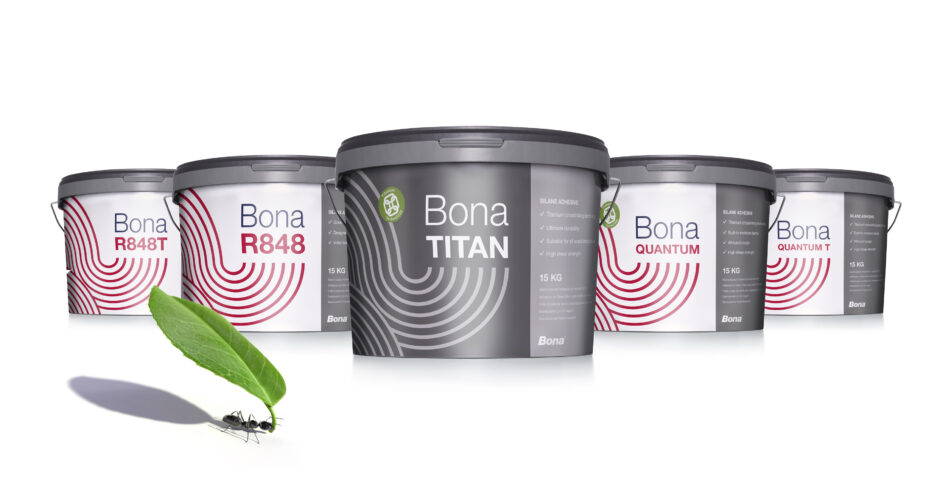 Package design for silane adhesive range